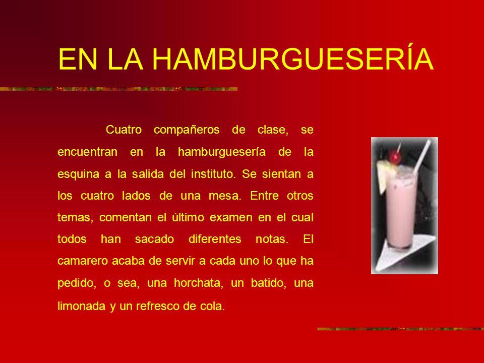 EN LA HAMBURGUESERÍA