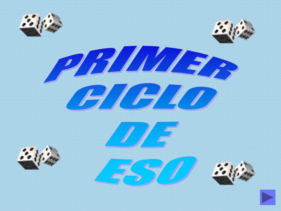 PRIMER CICLO DE ESO