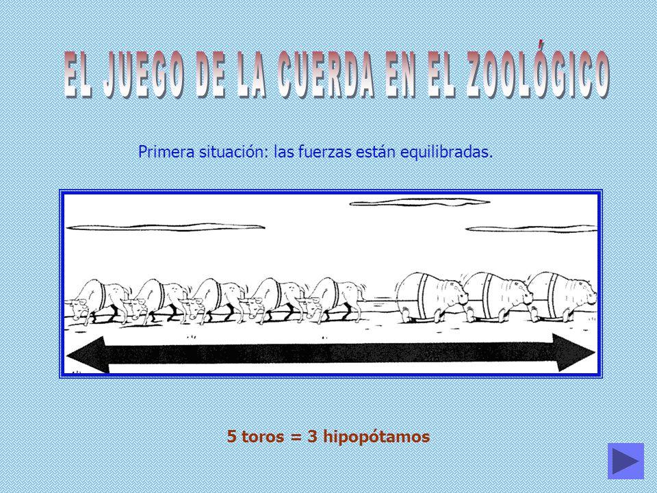 EL JUEGO DE LA CUERDA EN EL ZOOLÓGICO