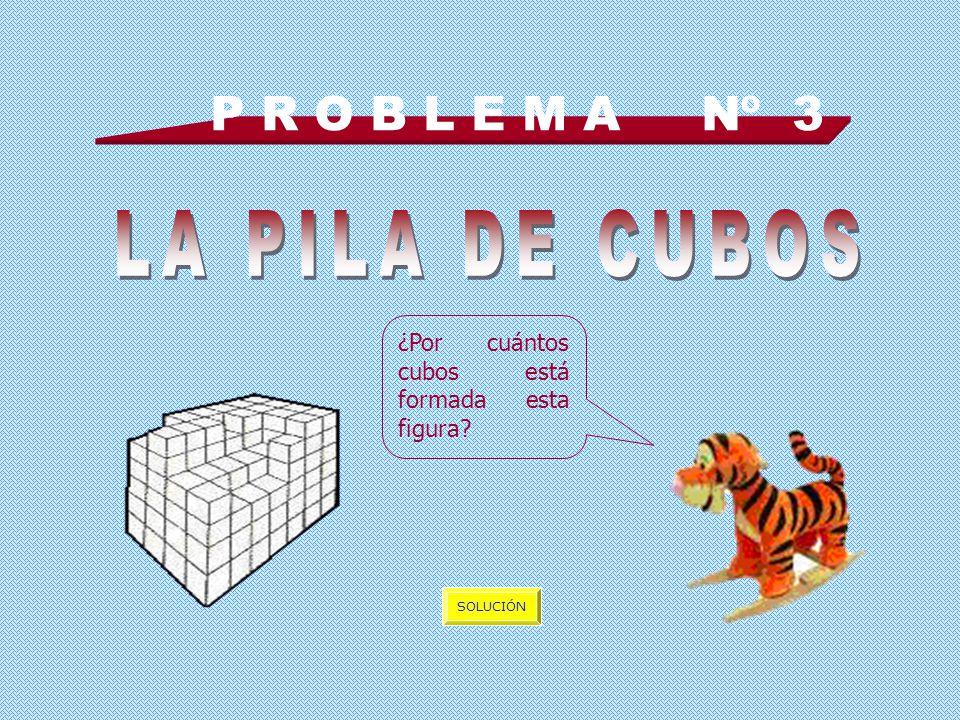 P R O B L E M A Nº 3 LA PILA DE CUBOS