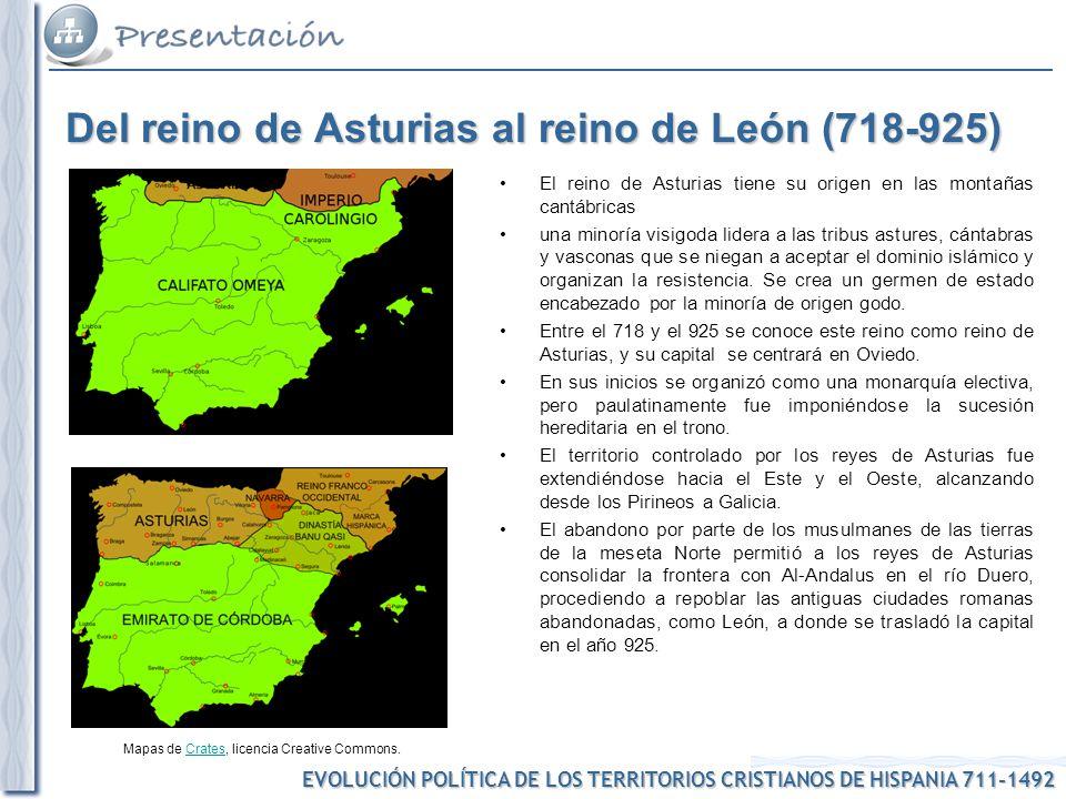 Del reino de Asturias al reino de León (718-925)
