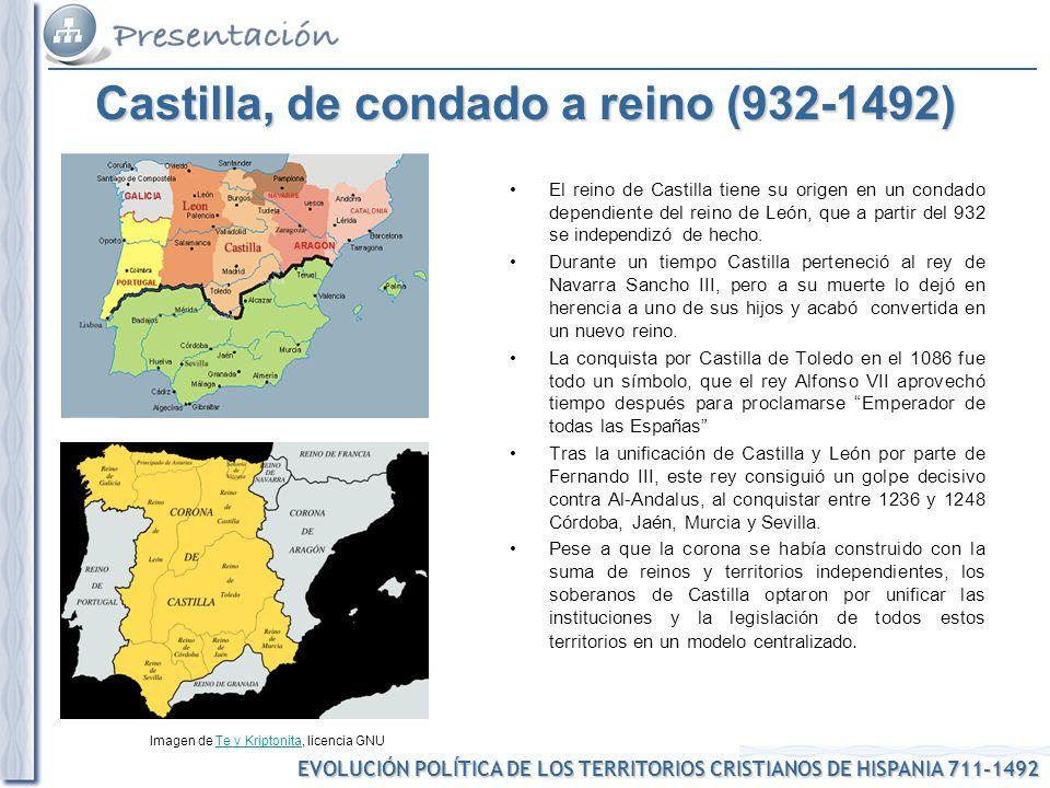 Castilla, de condado a reino (932-1492)