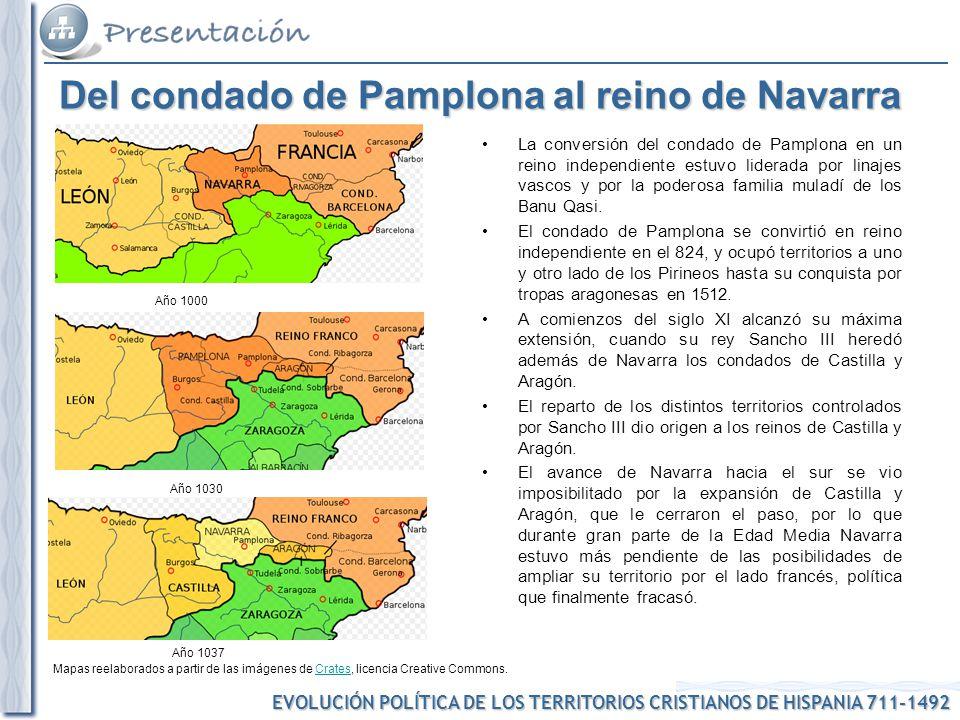 Del condado de Pamplona al reino de Navarra