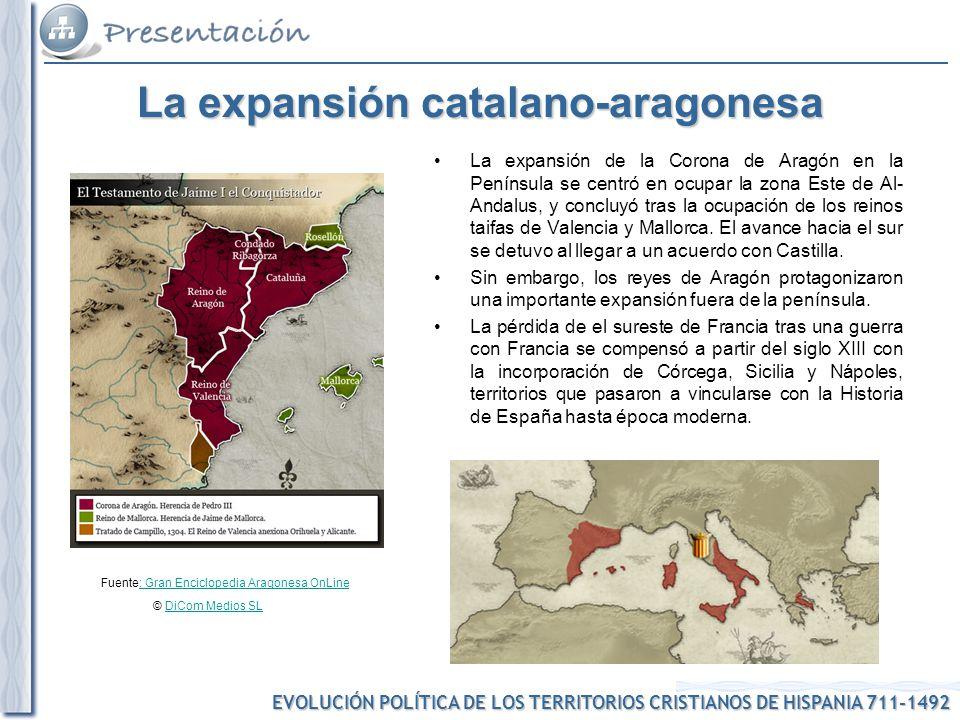 La expansión catalano-aragonesa