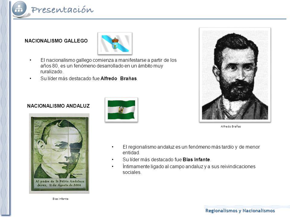 Su líder más destacado fue Alfredo Brañas.