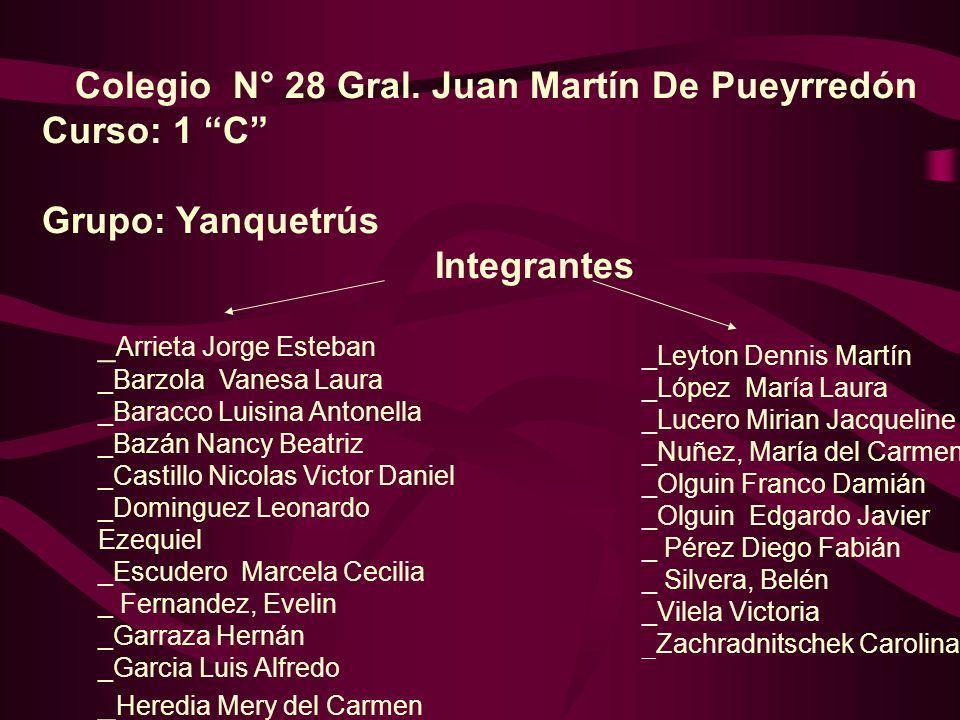 Colegio N° 28 Gral. Juan Martín De Pueyrredón