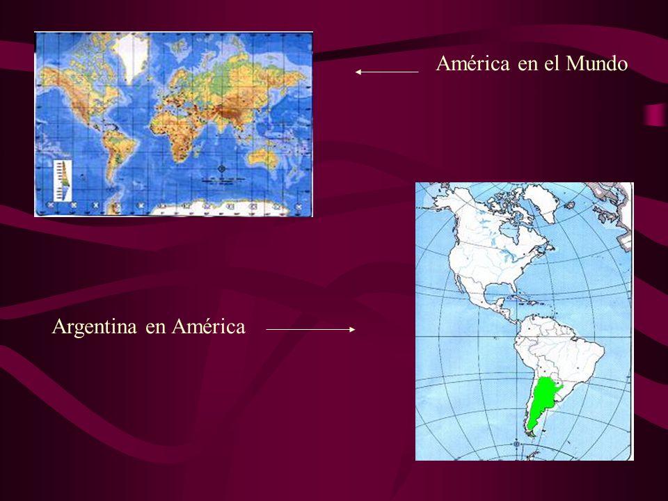 América en el Mundo Argentina en América