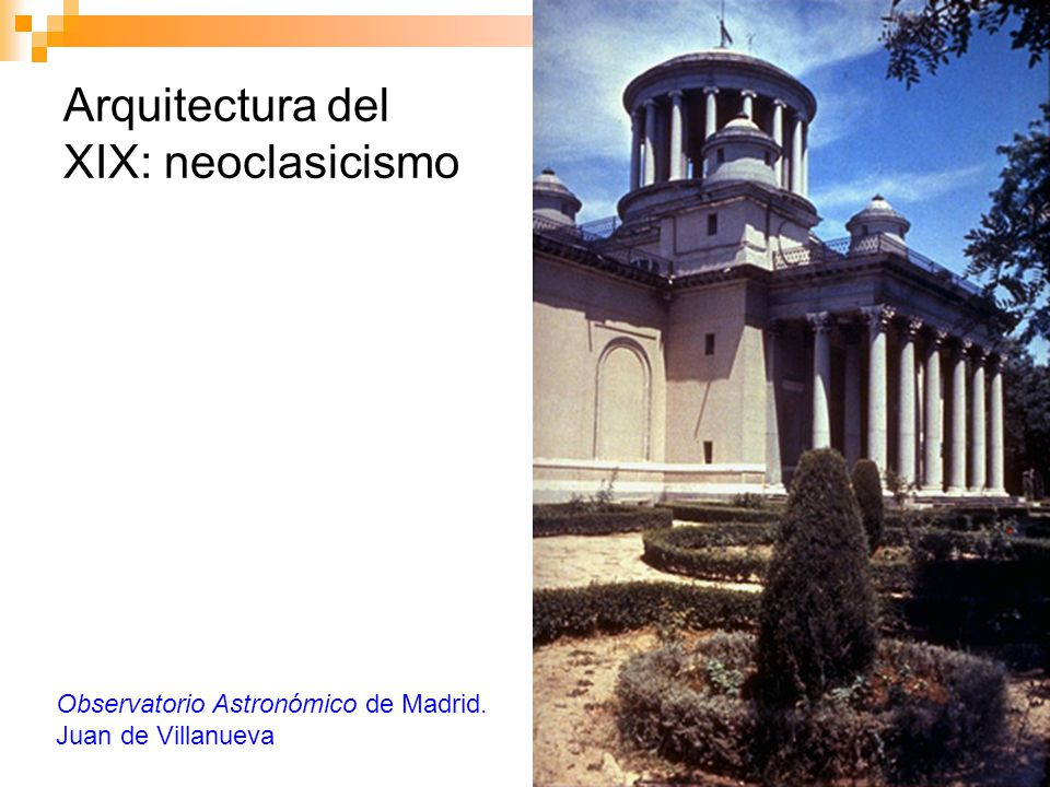 Arquitectura del XIX: neoclasicismo