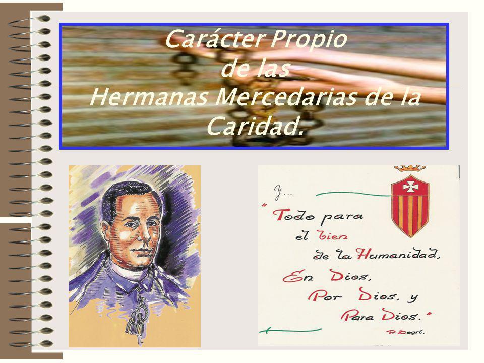 Hermanas Mercedarias de la Caridad.