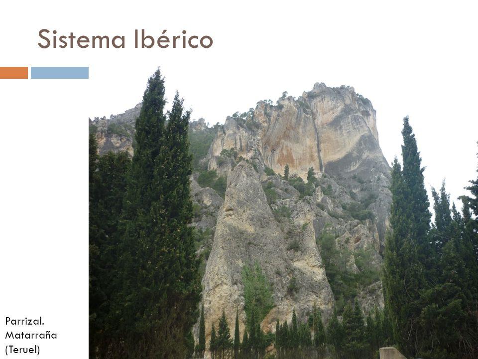 Sistema Ibérico Parrizal. Matarraña (Teruel)