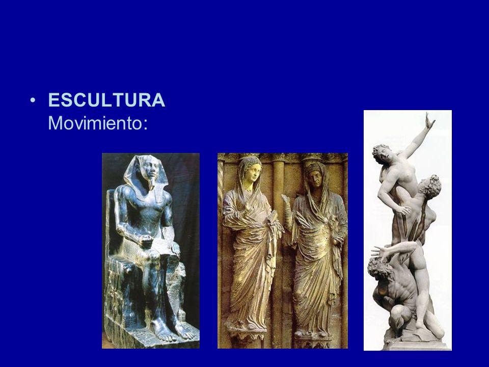 ESCULTURA Movimiento: