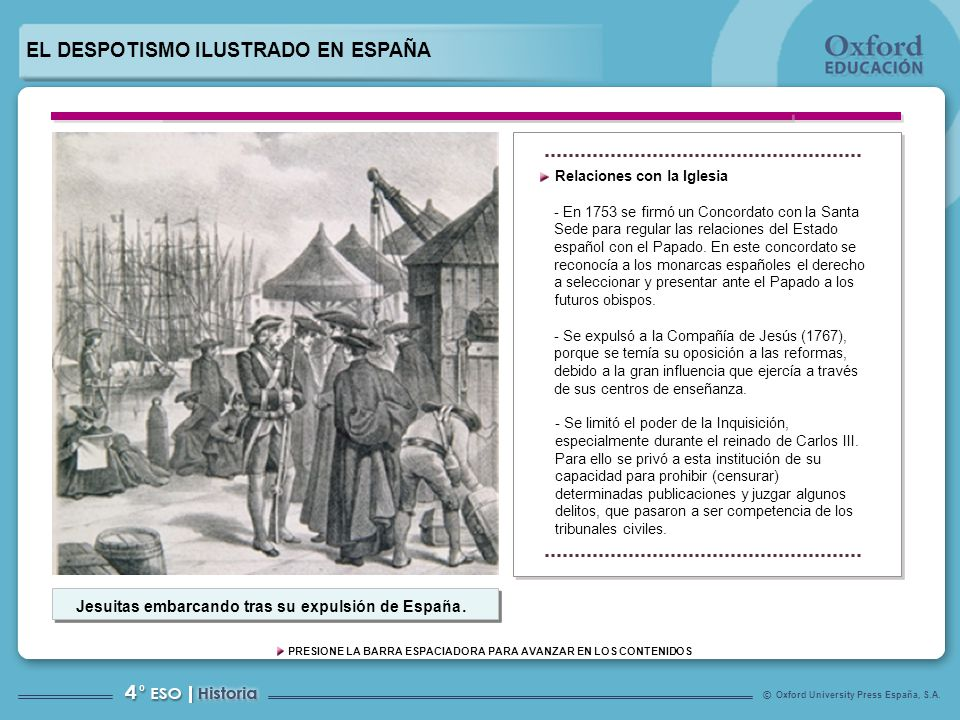 Jesuitas embarcando tras su expulsión de España.