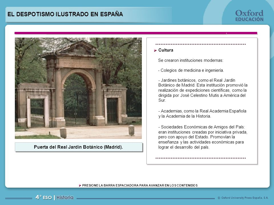 Puerta del Real Jardín Botánico (Madrid).