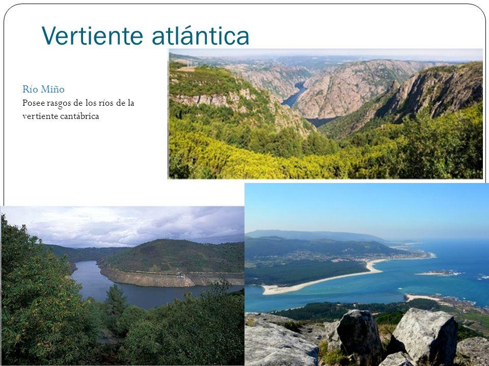 Vertiente atlántica Río Miño
