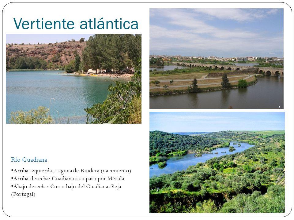 Vertiente atlántica Río Guadiana