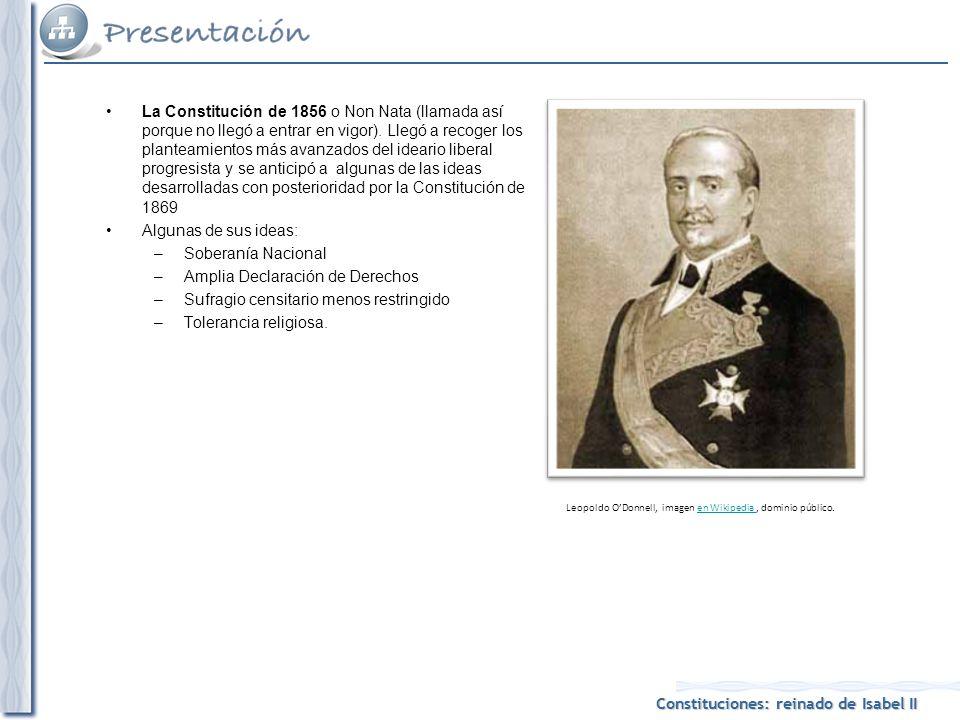 Leopoldo O'Donnell, imagen en Wikipedia , dominio público.