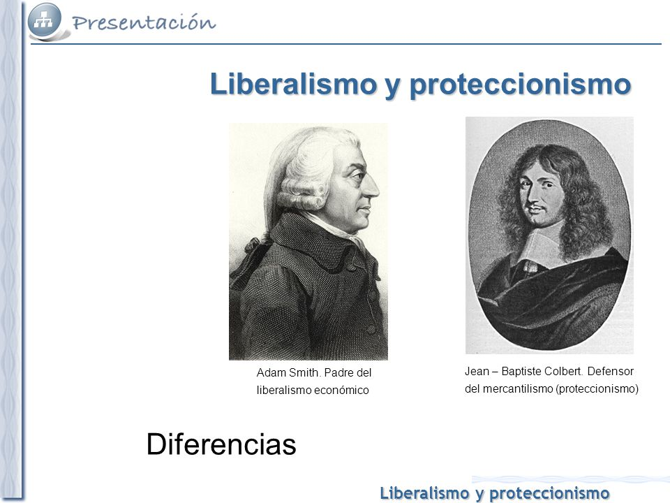 Liberalismo y proteccionismo