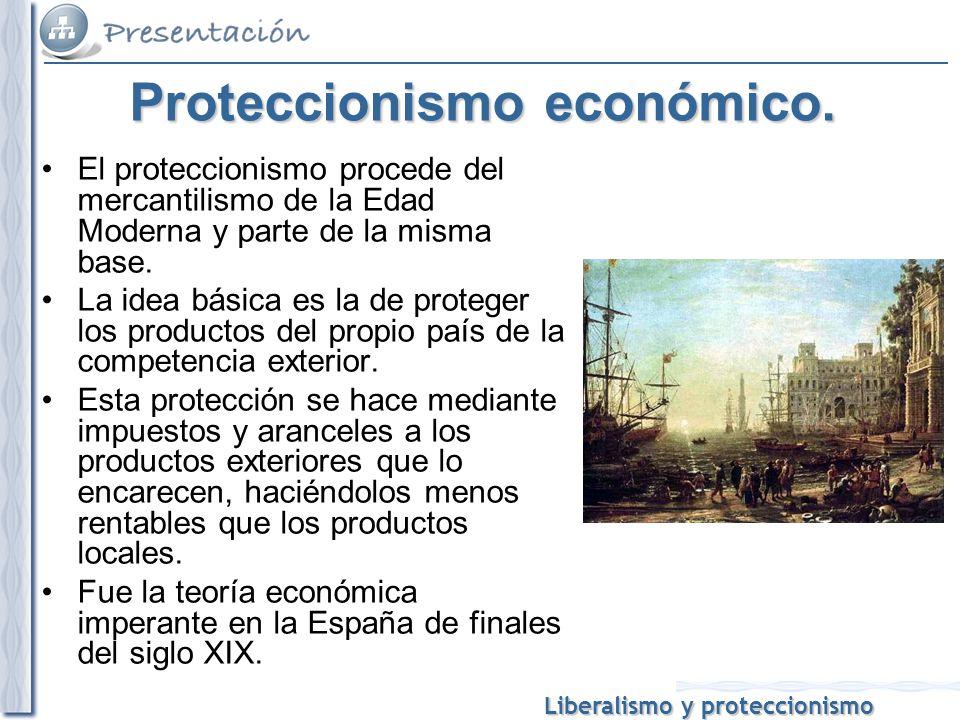 Proteccionismo económico.