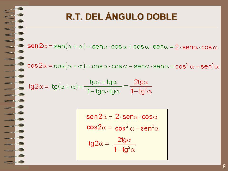 R.T. DEL ÁNGULO DOBLE