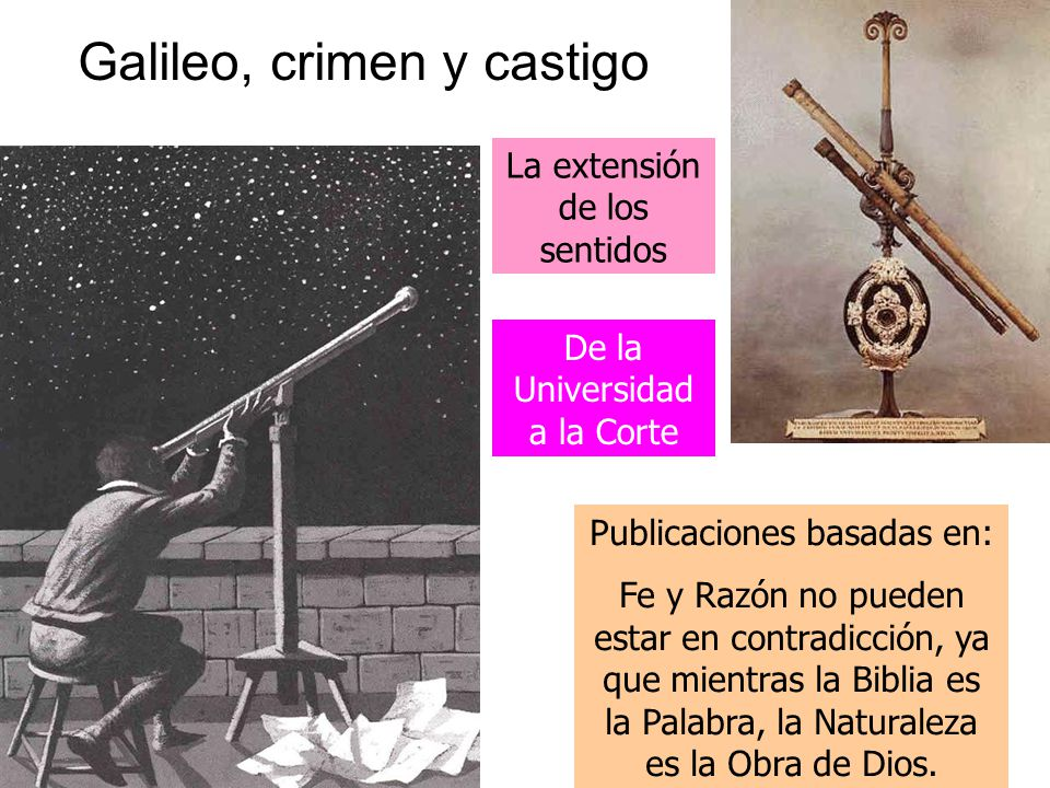 Galileo, crimen y castigo