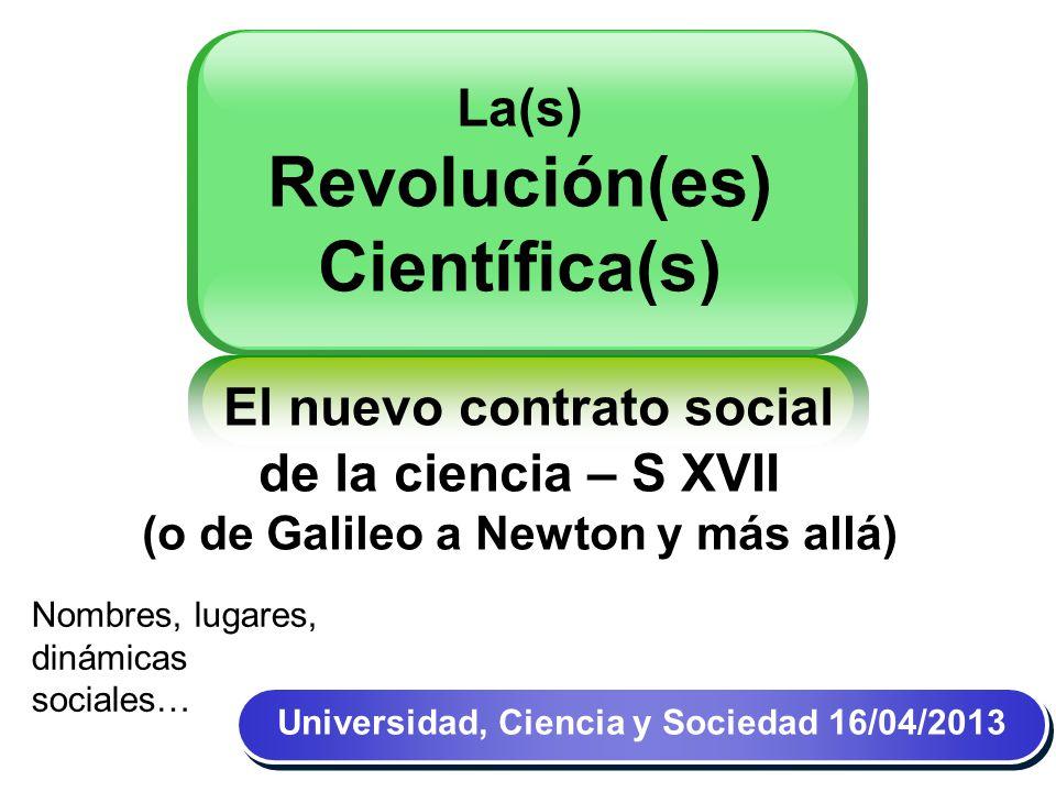Universidad, Ciencia y Sociedad 14/04/11