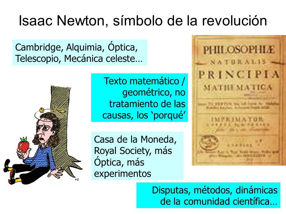 Isaac Newton, símbolo de la revolución