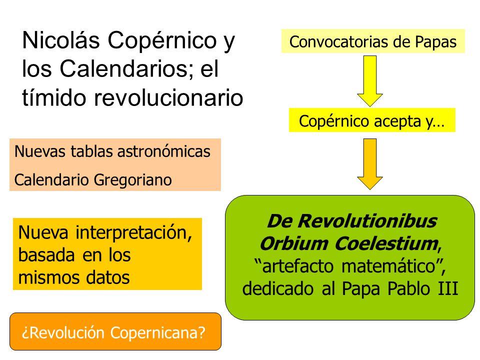 Nicolás Copérnico y los Calendarios; el tímido revolucionario