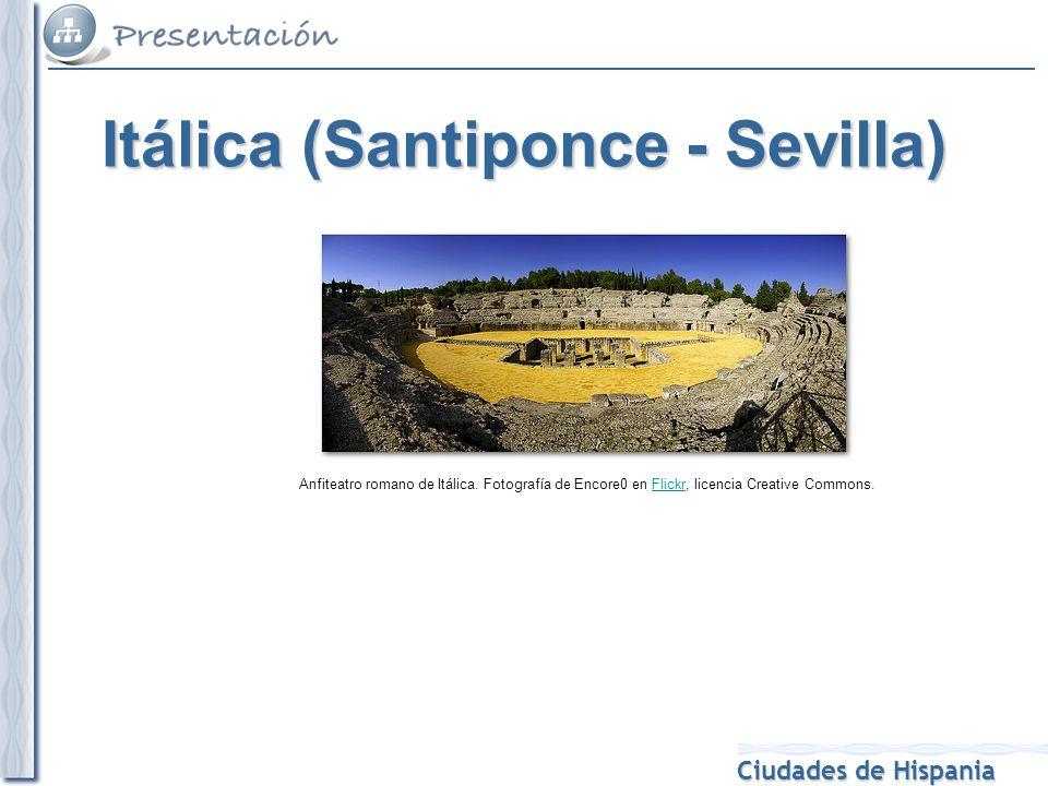 Itálica (Santiponce - Sevilla)