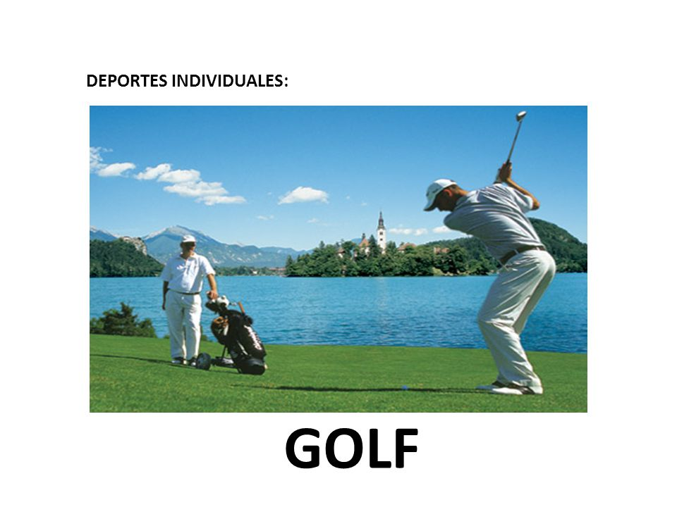 DEPORTES INDIVIDUALES: