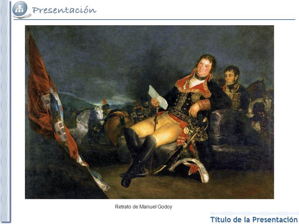 Retrato de Manuel Godoy