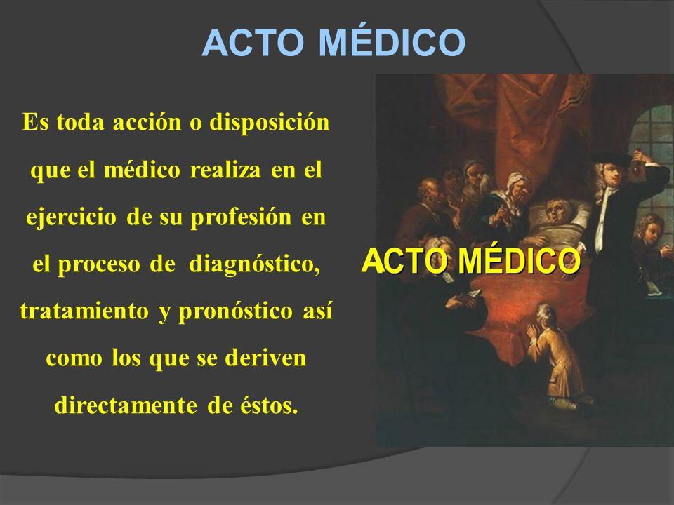 ACTO MÉDICO A.