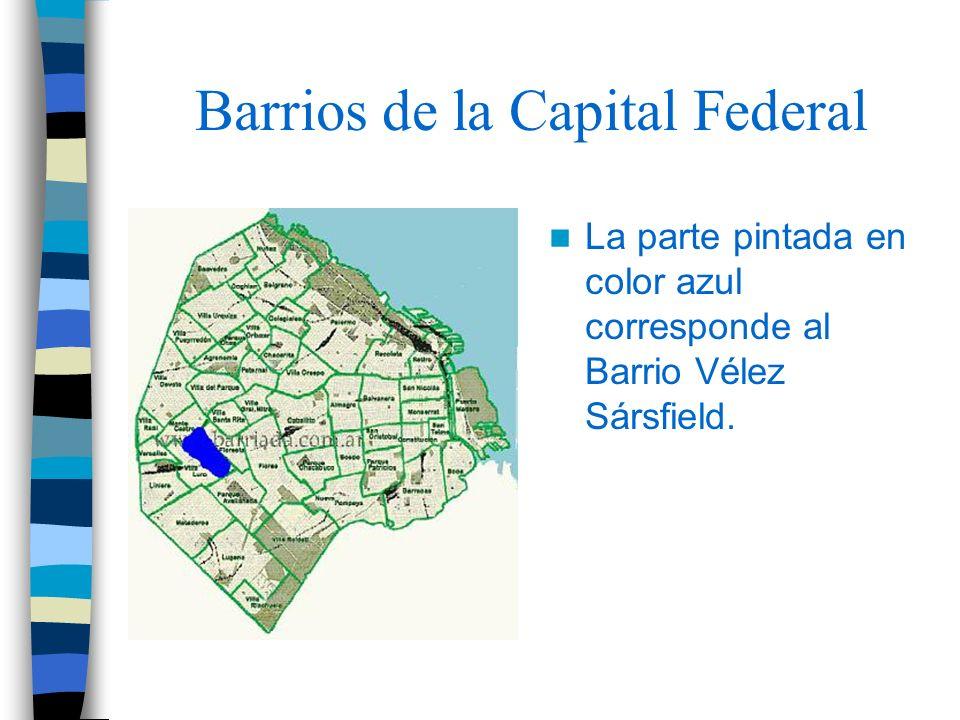 Barrios de la Capital Federal