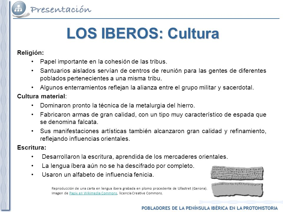 LOS IBEROS: Cultura Religión: