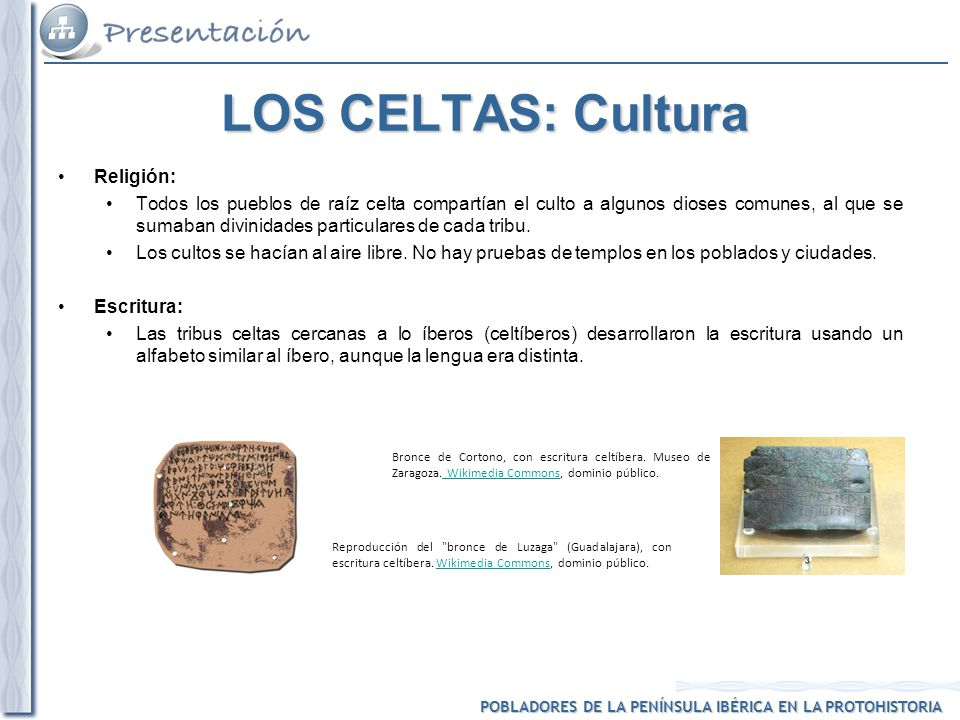 LOS CELTAS: Cultura Religión: