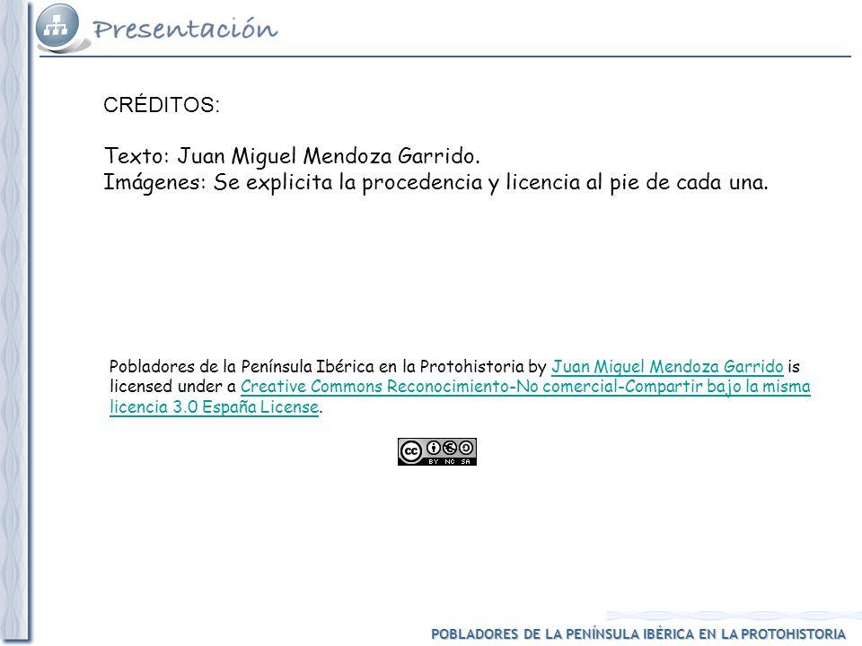 Texto: Juan Miguel Mendoza Garrido.