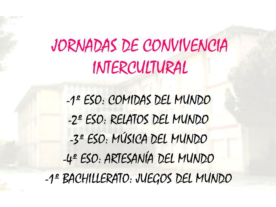 JORNADAS DE CONVIVENCIA INTERCULTURAL