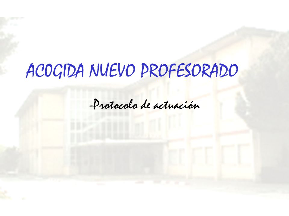 AC0GIDA NUEVO PROFESORADO