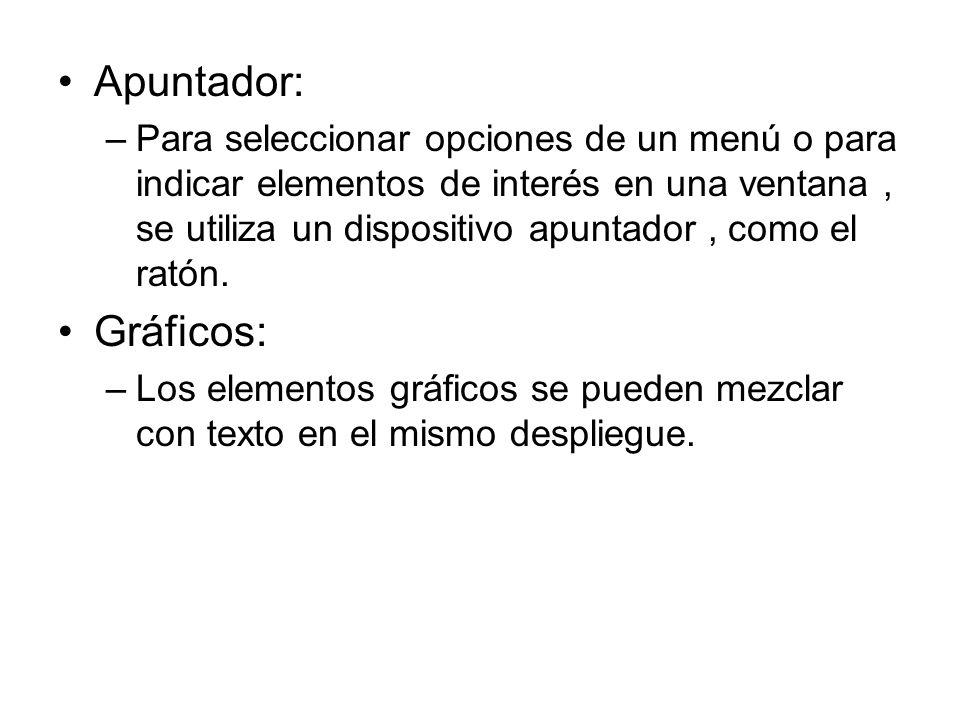 Apuntador: