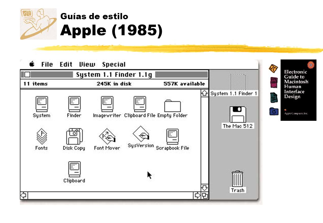 Guías de estilo Apple (1985)