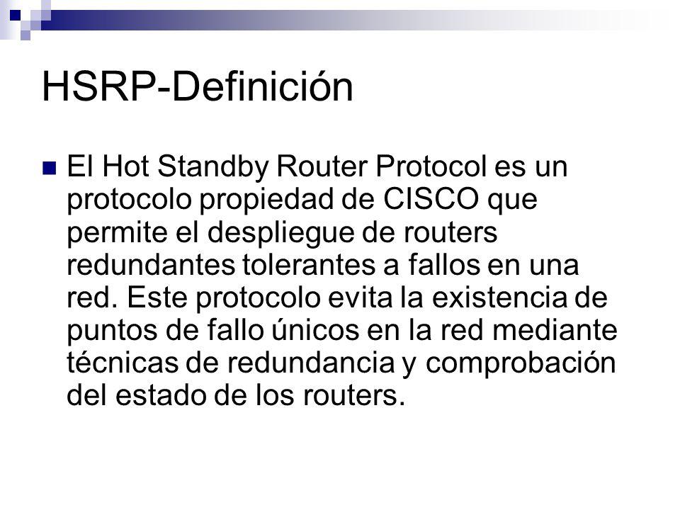 HSRP-Definición