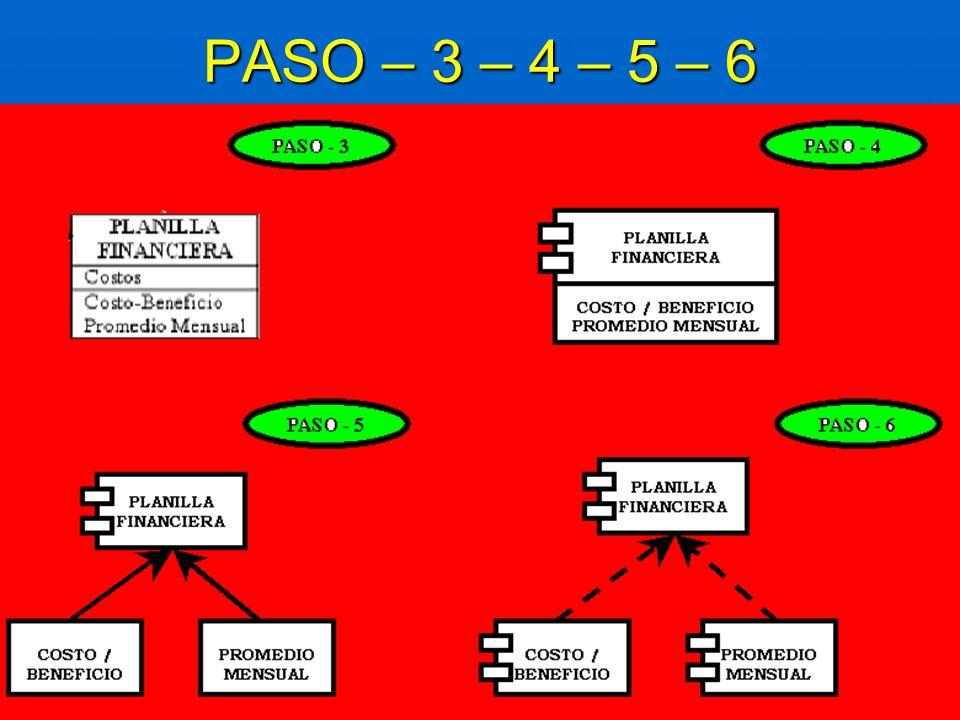 PASO – 3 – 4 – 5 – 6