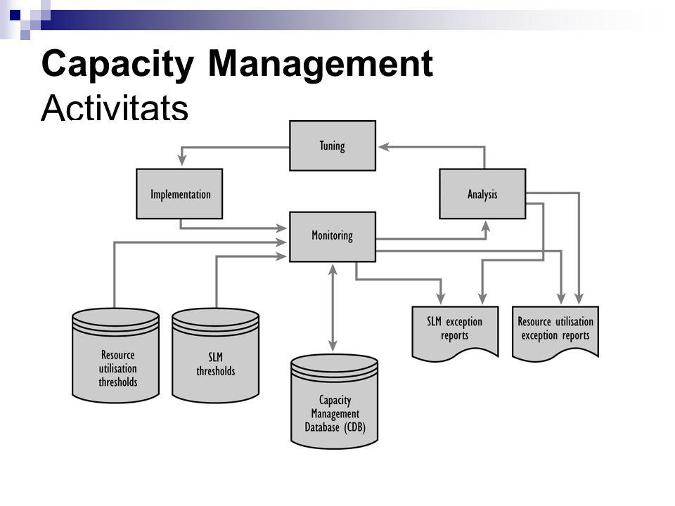 Capacity Management Activitats