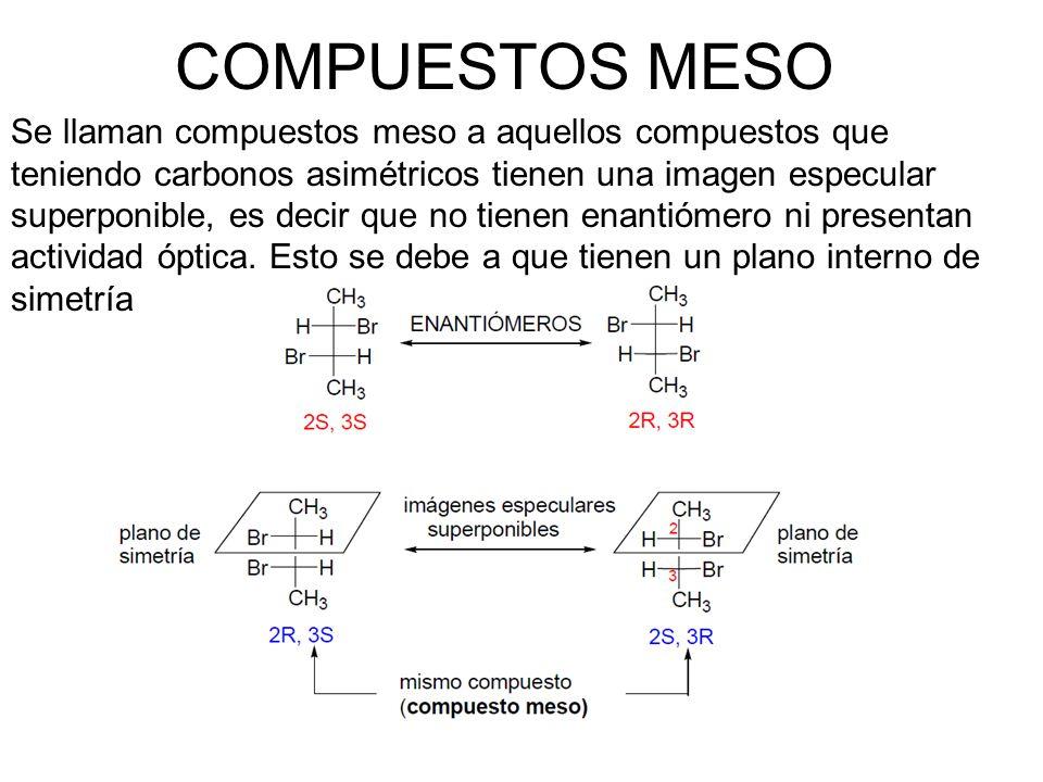 COMPUESTOS MESO