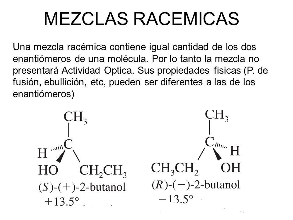 MEZCLAS RACEMICAS