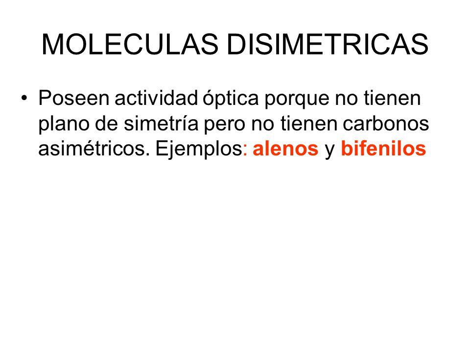 MOLECULAS DISIMETRICAS