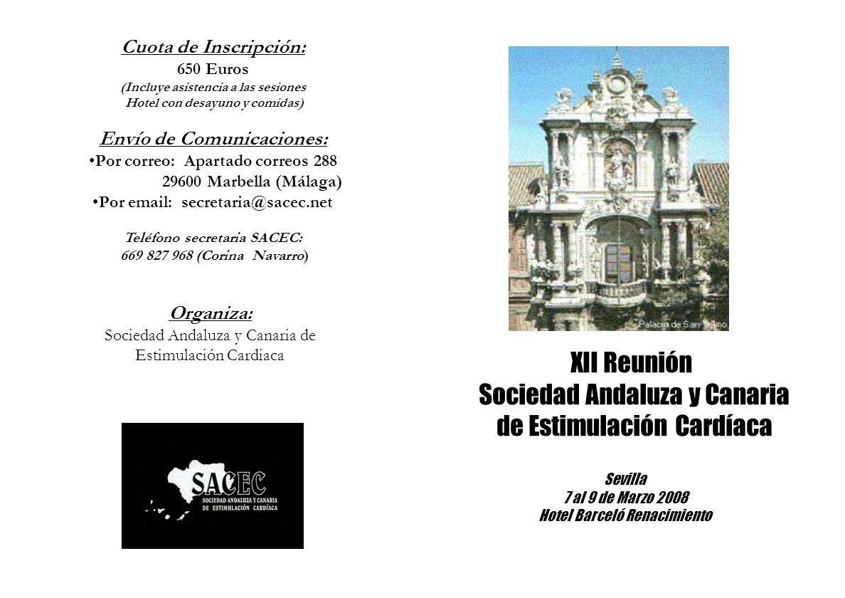 Sociedad Andaluza y Canaria de Estimulación Cardíaca
