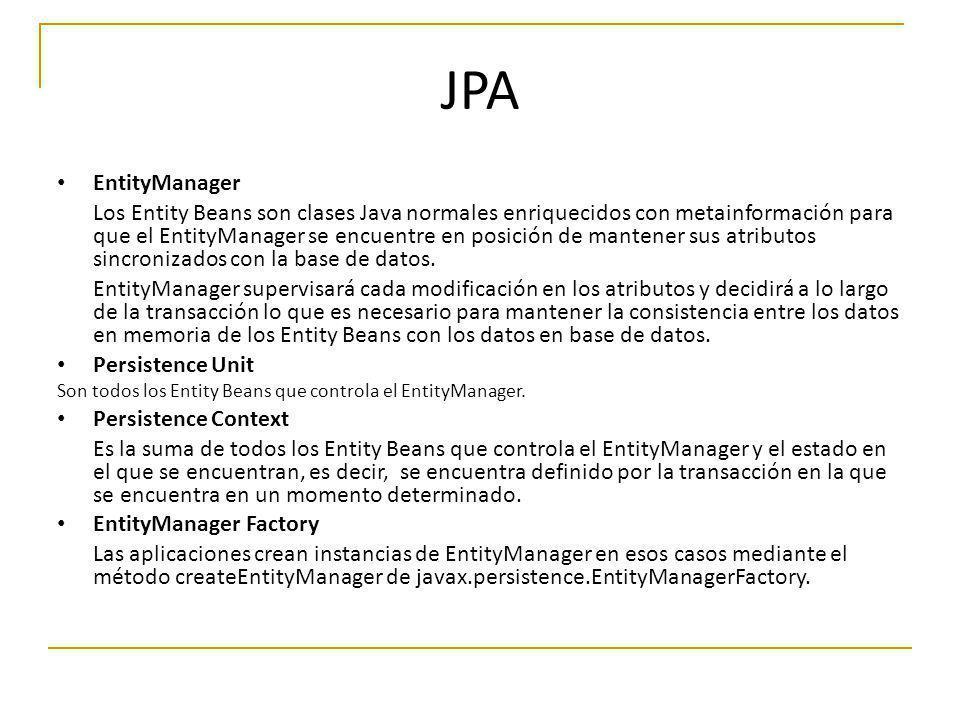 JPA EntityManager.