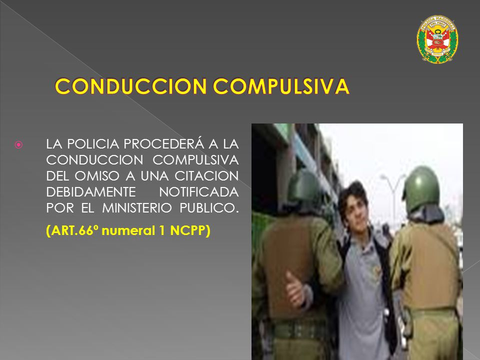 CONDUCCION COMPULSIVA