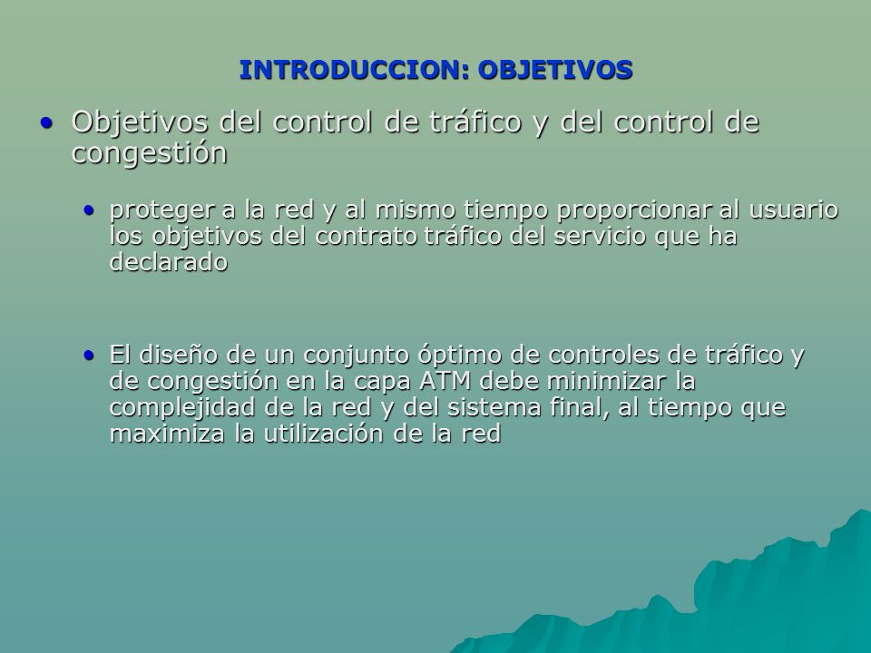 INTRODUCCION: OBJETIVOS
