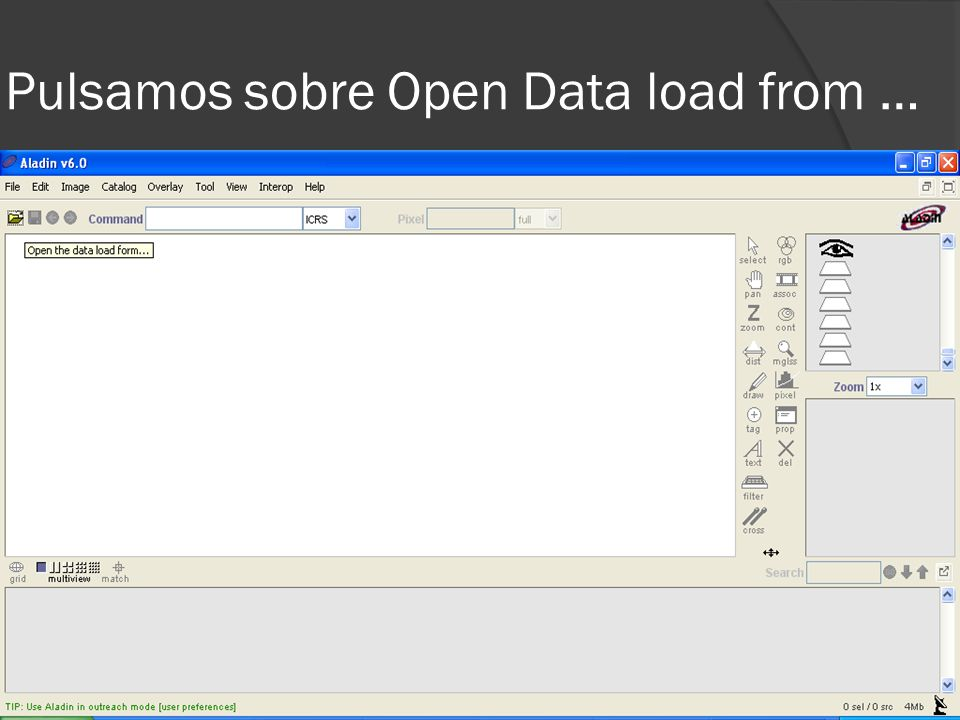 Pulsamos sobre Open Data load from …
